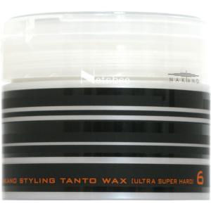 ナカノ スタイリング タント ワックスN 6 (ウルトラスーパーハード) 超ハードなホールド力で思い...