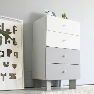 ■商品説明  グレー&ホワイトのモノトーンカラーで仕上げた優しい雰囲気の家具シリーズ。クールな印象に...