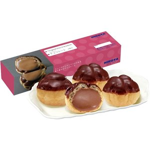 [洋菓子のヒロタ]ヒロタのシュークリーム5箱セット[1箱4個入][計20個入]|netshop-hirota|05