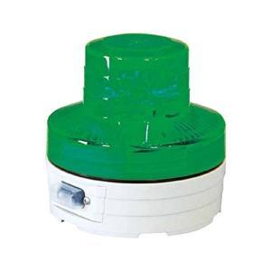 日動 電池式LED回転灯 ニコUFO 常時点灯タイプ 緑 NUAG|netshop-ito