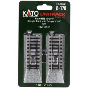 KATO HOゲージ 車止め線路 109mm 2本入 2-170 鉄道模型用品|netshop-ito