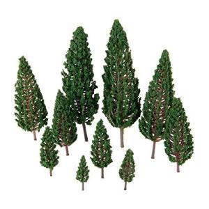 40個入り 樹木模型 モデルツリー 木 鉢植え用 鉄道模型 風景 モデル トレス 情景コレクション ジオラマ 建築模|netshop-ito
