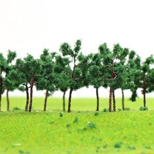 情景コレクション ザ 樹木 モデルツリー ツリー模型 35mm 1:25~1:300 N ゲージ用 100本 風景 箱庭 鉄道模型 建物模型|netshop-ito
