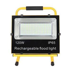 SAILUN 充電式 LED投光器 超薄型 SOSモード付 120w 超高輝度 広角 フラッドライト...