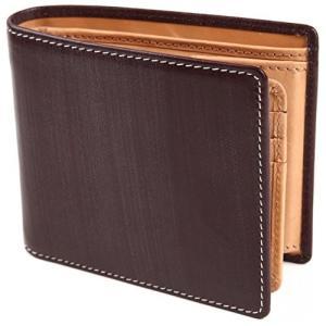 (ポルトラーノ) portolano ブライドルレザー 二つ折り財布 財布 改良版 イタリア革 本革 牛革 大容量 カード15枚 netshop-ito