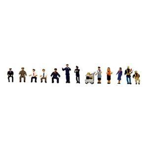 トミーテック ジオコレ 情景コレクション ザ・人間102 働く人々 鉄道 ・バス ジオラマ用品|netshop-ito