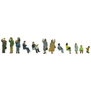 トミーテック ジオコレ 情景コレクション ザ・人間101 乗る人々 ジオラマ用品|netshop-ito