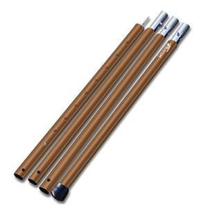 FIELDOOR アルミテントポール(4本連結 / 高さ調整 / 8段階 / アルマイト加工 / 2...