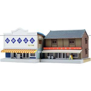 トミーテック ジオコレ 建物コレクション 096-2 洋品店・金物店2 ジオラマ用品|netshop-ito