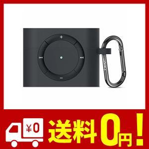 【Spigen】 AirPods Pro ケース カバー iPod shuffle 完全再現 カラビナ リング 付き シリコン 収納ケース 衝撃 吸収 netshop-kadoyoriya