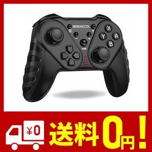 【2020最新版】Switch コントローラー 任天堂Switch対応 スイッチ コントローラー ジャイロセンサー搭載 HD振動 連射機能 BEBON netshop-kadoyoriya