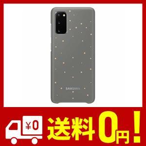 Galaxy S20 5G LED Back Cover バック カバー Gray グレー 純正品 [並行輸入品] netshop-kadoyoriya