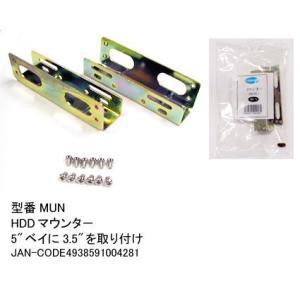 MUN ハードディスクマウンター 5インチベイ取付け用