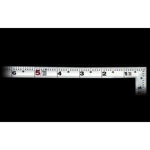 シンワ 曲尺 角厚 シルバー 併用目盛 1尺/30cm 併用目盛|netshopimpact
