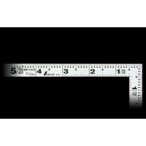 シンワ 曲尺 平ぴた シルバー 5寸/15cm 併用目盛|netshopimpact