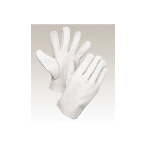 大中産業 牛革手袋1双入  100W 牛クレスト 白 サイズS・M・L・LL 用途:溶接・土木・建築・園芸作業等|netshopimpact