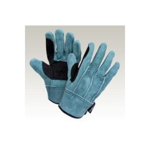 大中産業 牛革手袋10双入  103AW-OIL 床背縫革手オイル加工 フリー(L)サイズ 用途:油作業・ワイヤー・建築・溶接作業等|netshopimpact