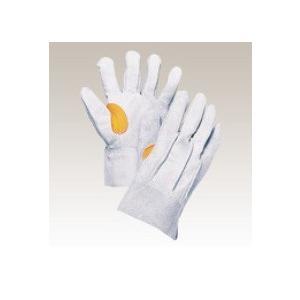 大中産業 牛革手袋1双入  103HGY-ha 背縫いフェルト入 フリー(L)サイズ 用途:溶接・建築・土木・造船作業等|netshopimpact
