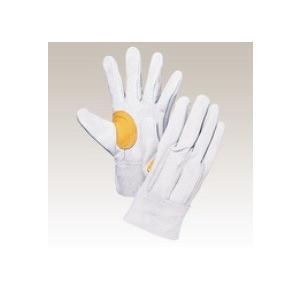 大中産業 牛革手袋1双入  103YK 背縫い革手(耐熱糸使用) フリー(L)サイズ 用途:溶接・建築・土木・造船作業等|netshopimpact