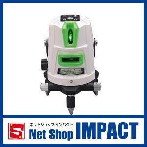 グリーンレーザー墨出し器ドットライン「極」 takagi 3ライン 受光器・三脚セット TGL-3P netshopimpact