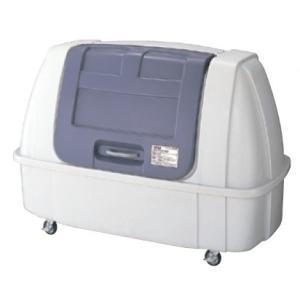 屋外 ゴミ箱 大型 完成品ゴミ収集庫 ポリ製開口大タイプ キャスタータイプ 容量1500L 45Lゴミ袋約33袋分 ckdb-c150g|netshopimpact
