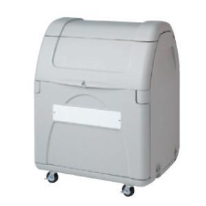 屋外 ゴミ箱 大型 完成品ゴミ収集庫 ポリ製開口大タイプ キャスタータイプ 容量330L 45Lゴミ袋約7袋分 ckdb-c33g|netshopimpact