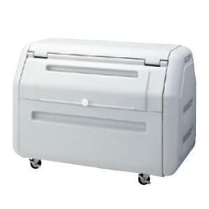 屋外 ゴミ箱 大型 完成品ゴミ収集庫 ポリ製開口大タイプ キャスタータイプ 容量410L 45Lゴミ袋約10袋分 ckdb-c40g|netshopimpact