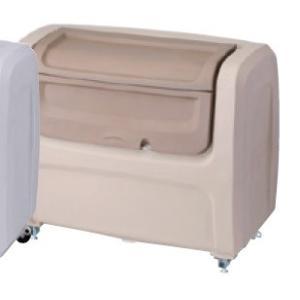 屋外 ゴミ箱 大型 完成品ゴミ収集庫 ポリ製 据置タイプ 色:グレー/ベージュ 容量800L 45Lゴミ袋約20袋分 ckdx-a80|netshopimpact