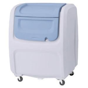 屋外 ゴミ箱 大型 完成品ゴミ収集庫 ポリ製 キャスタータイプ 色:グレー/ベージュ 容量500L 45Lゴミ袋約12袋分 ckdx-c50|netshopimpact