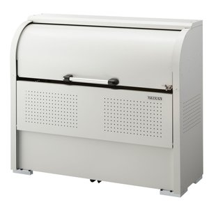 屋外 ゴミ箱 大型 組立式ゴミ収集庫 ガルバ鋼板製 容量600L 45Lゴミ袋約13袋分 ※お客様での組立が必要です。 cke-r1305|netshopimpact