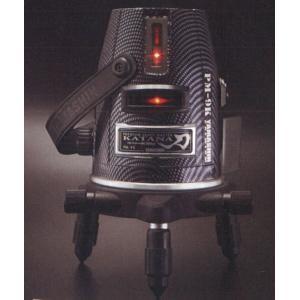 レッドレーザー墨出し器 赤レーザータイプ PM−9K フルライン照射タイプ 三脚・受光器セット|netshopimpact