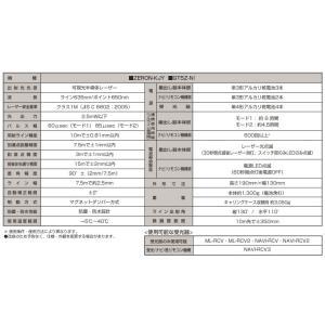 タジマ レーザー墨出し器 ZERON-KJYSET  NAVI ゼロ KJY 本体・受光器・三脚セット 5ライン|netshopimpact|03