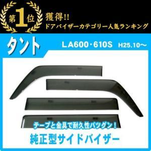 ダイハツ タント/カスタム LA600S/LA610S 25年10月〜 純正型サイドバイザー/ドアバイザー|netstage