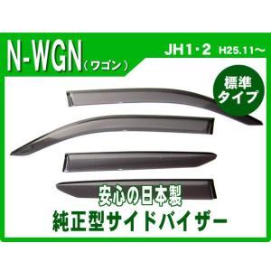 ホンダ N-WGN/カスタム JH1/JH2 25年11月〜 純正型サイドバイザー/ドアバイザー*安心の日本製|netstage