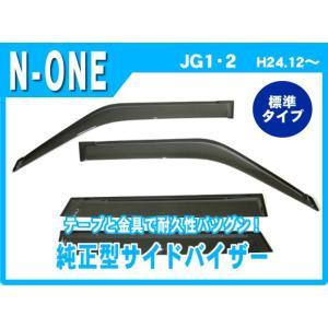 ホンダ N-ONE JG1/JG2 平成24年12月〜 純正型サイドバイザー/ドアバイザー|netstage