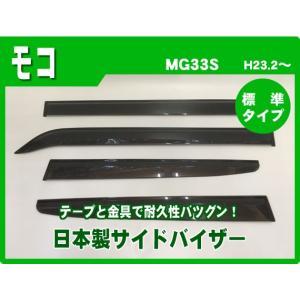 日産 モコ MG33S 23年2月〜 純正型サイドバイザー/ドアバイザー*安心の日本製|netstage