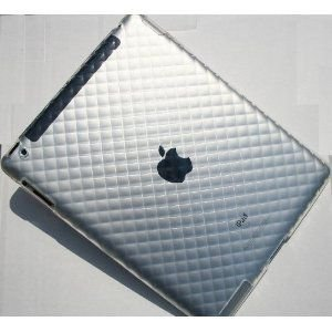 iPad2 カバー TPUダイヤ クリア|neustadt