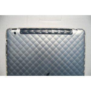 iPad2 カバー TPUダイヤ クリア|neustadt|02