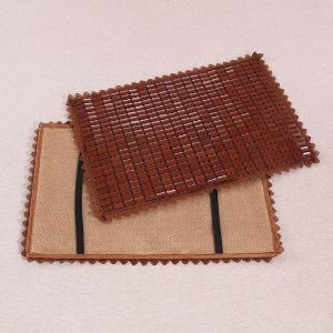 枕パッド 通気性の良い竹製 和風 ゴム付き (ブラウンC)