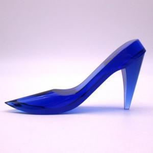 女の子の憧れ、あのシンデレラのガラスの靴を思わせるステキなクリスタルハイヒールです。 インテリアとし...