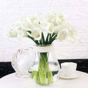 造花 オランダカイウ カラー 15本 (ホワイト)