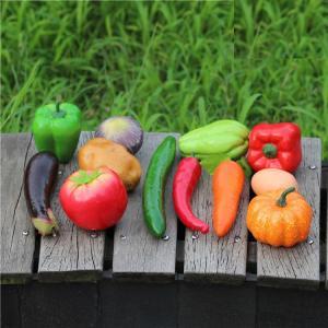 食品サンプル どっさりお野菜 タマゴ 12種類セット 竹カゴ入り|neustadt|04