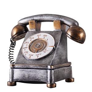 とってもおしゃれな電話機モチーフのオブジェです。 メタリックなシルバーカラーがかっこいいですね。 貯...