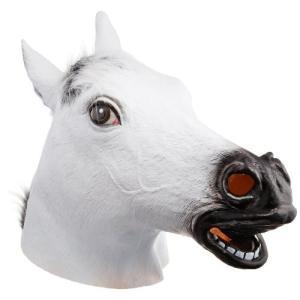 コスプレ ヘッドマスク 白馬 ウマ