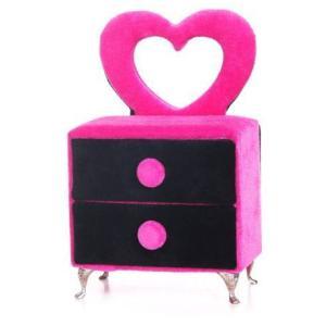 ジュエリーボックス キャビネット A74-307H ピンク...