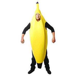 コスプレ 全身バナナ おもしろコスチューム (LL)