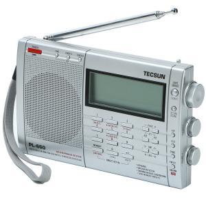 TECSUN PL660 SSB・エアバンド・同期検波 ハイエンド短波ラジオ ポータブルBCL受信機...