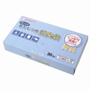 消臭袋 大人の紙おむつ用BOX 30枚入り×10パック|new-pack