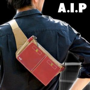 【A.I.P】ウエストバッグ
