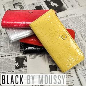 ブラックバイマウジー BLACK BY MOUSSY L字ファスナー長財布 TIER ティア 5450022 レディース ブランド|newbag-w